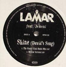 LAMAR.............SHINE (david's song).........MAXI 33T