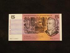 1967 COOMBS RANDALL COMMONWEALTH OF AUSTRALIA $5 NOTE - (EF) - NCA 228801 - P5