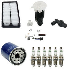 Acura TL 99-03 J32A1 High Quality Tune Up KIT Spark Plugs + Air Fuel Filters PCV