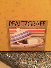 Pfaltzgraff RIO Round Butter Dish BRAND NEW IN BOX Never Opened