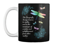 Dragonfly-dragonfly Brings Dreams - The Dragonfly To Reality And Gift Coffee Mug