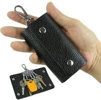 Women & Men Genuine leather key holder wallet key chain case pouch bag key bag