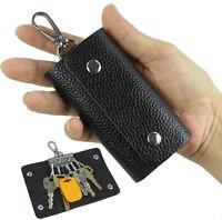 Women & Men Genuine leather key holder wallet key chain case pouch bag key bag