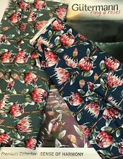 GUTERMANN 100% COTTON  - RING A ROSES : SENSE OF HARMONY : PRICE BY HALF METRE