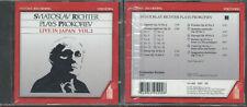 CD Sviatoslav Richter plays Prokofiev Live in Japan Vol. 2