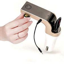 Wireless Bluetooth FM Transmitter AUX Modulator Car Kit MP3 Player USB Charger