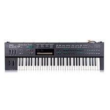 Yamaha DX7 IID Rare Vintage Digital FM Synthesizer Synth Keyboard + Ram Cart