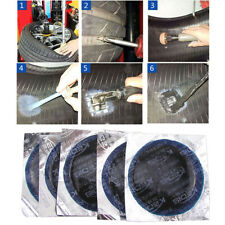 20PC AUTO CAR TIRE REPAIR RADIAL INNERTUBE INNER TUBE RUBBER HOLE PATCH TOOL KIT