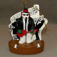 Christmas MUSICAL Ornament BLUES BROTHER SANTA'S BEST RANA'S VARIETY USA SELLER