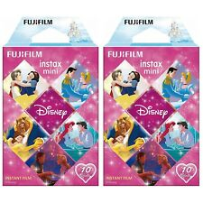 2 Packs 20 Photos Disney Princess FujiFilm Fuji Instax Mini Film Polaroid SP-2