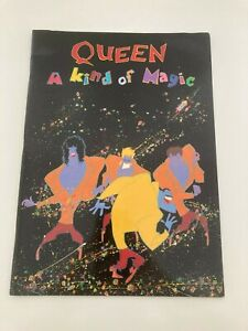 Queen rock band A Kind of Magic 1986 tour programme