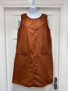 Ladies ESMARA Tabbard Shift Dress Size 16
