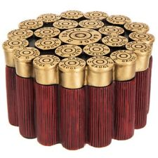 12-Gauge Shotgun Shells Resin Trinket Box Remington Colt Winchester Hunting