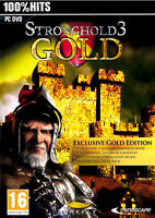 Stronghold 3 Gold Edition PC Brand New sealed