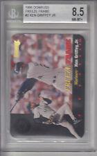 1996 Donruss Freeze Frame Card #2 Ken Griffey, Jr. Z17267  - BVG NmMt+ (8.5)