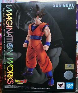 (In UK) Bandai Imagination Works Son Goku 1/9 Figure (Dragonball Z) Japan Ver.