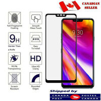 For LG G6 G7 Thinq Full Cover Tempered Glass Screen Protector