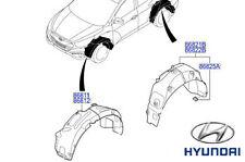 Genuine Hyundai iX35 Wheel Arch Liner Front RH Right Drivers Side - 868122Y000