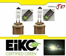 Eiko Precision 899 37.5W Two Bulbs Fog Light Replacement Plug Play Germany Stock