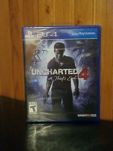 Uncharted 4: A Thief's End (Sony PlayStation 4, PS4) - SEALED