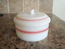 Vintage Hazel Atlas Drippings Grease Bowl Jar w/Lid