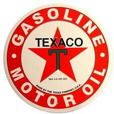TEXACO Blechschild 60cm Gasoline Oil Gas USA station tin sign XXL Benzin Öl