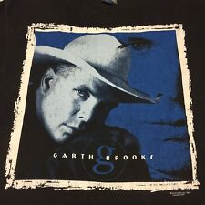 Vintage 1996 Garth Brooks Country Concert Tour 2-Sided T-Shirt Music Band Rock