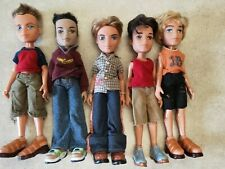 Bratz Boyz Lot of 5 dolls Dressed - shoes clothes, Cameron Eitan more