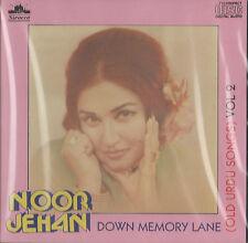 NOOR JEHAN - DOWN MEMORY LANE VOL 2 - NEW SOUND TRACK CD - FREE POST UK