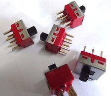 Paquete de 5 c&k DPTD Pcb Soporte Deslizante Interruptor 1201-m2-c-q-e-2-2