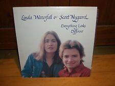LINDA WATERFALL AND SCOTT NUGGARD-TROUT FOLK LP NM