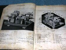 GISHOLT No.12 Automatic Lathe Manual