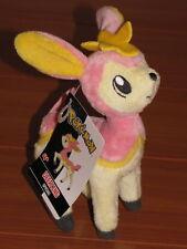 Pink Spring DEERLING Pokemon Black & White Wave 2 Deer Plush Jakks Pacific - NEW