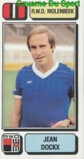 205 JEAN DOCKX BELGIQUE RWD.MOLENBEEK STICKER FOOTBALL 1983 PANINI