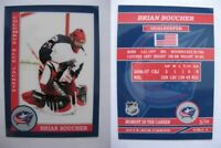 2015 SCA Brian Boucher Columbus Blue Jackets goalie never issued produced #d/10