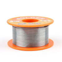 63/37 0.8mm Tin Lead Rosin Core Solder Flux Soldering Welding Iron Wire Reel Kit