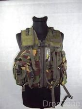 NEW DPM Woodland Camo Military PLCE Webbing Combat Vest, Paintballing / Airsoft