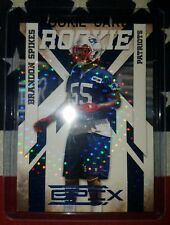 2010 Panini Epix Brandon Spikes parallel RC #47/50 New England Patriots