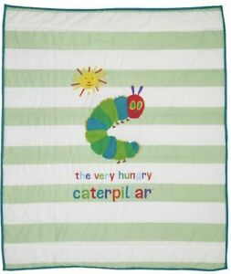 The Very Hungry Caterpillar COT COMFORTER plus knitted BLANKET - Eric Carle