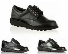 Patent Leather Lace Up Casual Shoes for Women