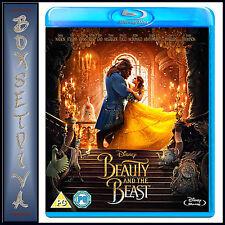 BEAUTY & THE BEAST - DISNEY - Emma Watson & Dan Stevens  **BRAND NEW BLU-RAY***