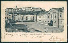 Cuneo Saluzzo Caserma ABRASA cartolina QK9156