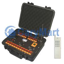 12 Kanal 500M Funk Zündsystem mit Kasten für Pyrotechnik Feuerwerkszünder 433MHz