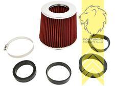 Sportluftfilter offener Luftfilter Pilz Universal Filter Rot Nissan Sunny Micra