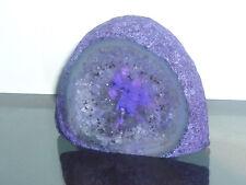 cristalloterapia SEMI GEODE nodulo AMETISTA roccia cristallo minerale tipo 2