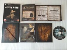 HEAVY RAIN LIMITED SPECIAL EDITION CARDBOARD PS3 GAME