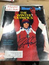 Dr. Eric Heiden Olympic Speedskating Autographed Signed Sports Illustrated COA