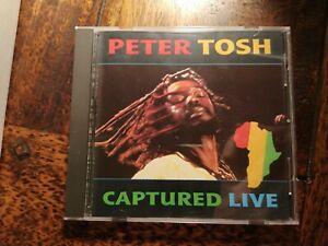 Peter Tosh - Captured Live CD Reggae