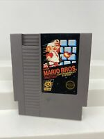 SUPER MARIO BROS. -- NES Nintendo Original Classic Game CLEAN TESTED