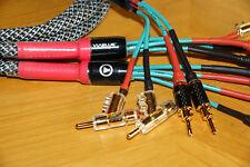 2x3,25 m Bi-Wire SommerSPM440 Ls-Kabel 4x4 mm² + Rembus Spreiz-Federstecker